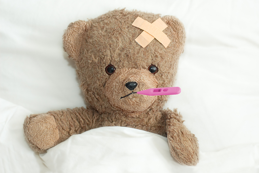 bigstock_Teddy_Is_Sick_682694