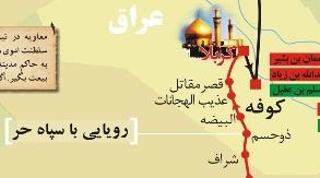 مسیر حرکت سیدالشهدا علیه السلام