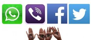 social media no love